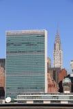 城市曼哈顿新的地平线约克 图库摄影
