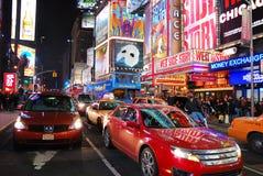 城市曼哈顿新的方形时间约克 免版税库存图片