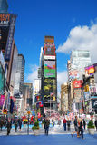 城市曼哈顿新的方形时间约克 免版税库存照片