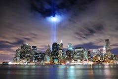 城市曼哈顿纽约 免版税库存图片