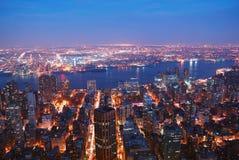 城市曼哈顿纽约 图库摄影