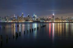 城市曼哈顿纽约 库存图片