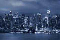 城市曼哈顿纽约 免版税库存照片