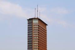 城市服务塔 免版税库存图片