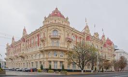 城市杜马的大厦, 1899 建筑师A Pomerantsev 图库摄影