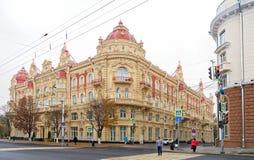 城市杜马的大厦, 1899 建筑师A Pomerantsev 免版税库存图片