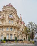 城市杜马的大厦, 1899 建筑师A Pomerantsev 免版税库存照片