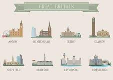 城市标志。英国 免版税图库摄影