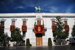 城市格拉纳达大厅西班牙 图库摄影