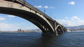 城市桥梁。 股票视频