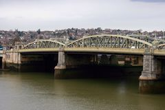 城市桥梁英国 库存图片