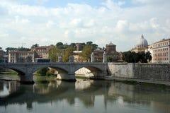 城市梵蒂冈视图 免版税库存图片
