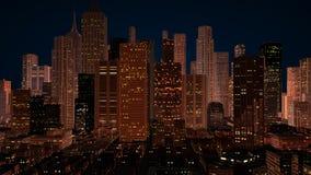 城市概念 库存图片
