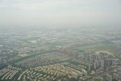 城市概略的看法  免版税库存图片