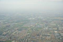 城市概略的看法  免版税库存照片