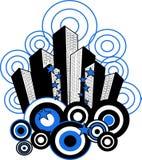 城市模式 免版税库存图片