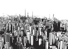 城市横向 免版税库存照片