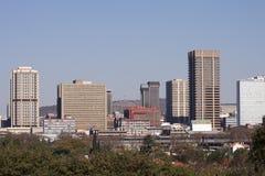城市比勒陀利亚地平线 免版税库存图片