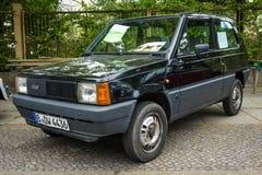 城市汽车菲亚特熊猫45 (Tipo 141), 1983年 图库摄影