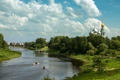 城市沃洛格达州 免版税库存照片