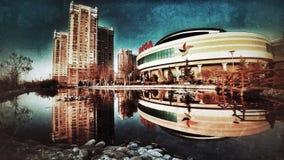 城市沈默 免版税图库摄影