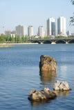 城市河 免版税库存图片