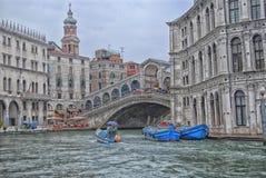 城市河 免版税图库摄影