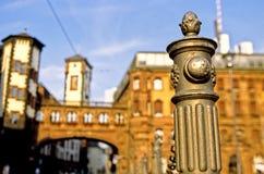 城市法兰克福德国大厅 免版税图库摄影