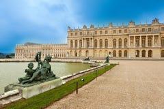 城市法国横向宫殿凡尔赛 免版税库存图片