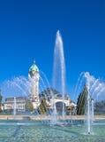 城市法国里摩日 免版税库存图片