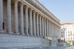 城市法院在利昂 库存照片