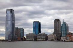 城市泽西地平线 库存图片