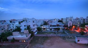 城市海得拉巴印地安人 图库摄影