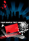 城市海报 免版税图库摄影