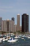 城市海滨广场 图库摄影