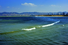 城市海滨 库存图片