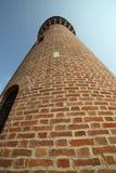 城市渡槽的塔在Burano海岛在威尼斯附近的 图库摄影