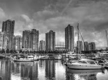 城市温哥华 免版税库存照片