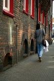 城市游览在卡托维兹 免版税库存照片