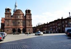 城市游览在卡托维兹 库存照片