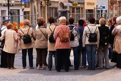 城市游览通过进城 免版税库存照片