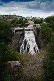 城市瀑布能量 库存图片