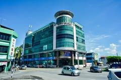 城市点购物中心,民都鲁镇 库存图片