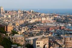 城市热那亚 免版税库存图片