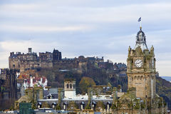 城市爱丁堡 图库摄影