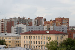 城市片段 免版税库存图片