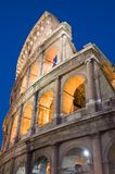 城市特写镜头大剧场罗马 库存照片