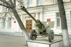 城市特维尔 加里宁苏沃洛夫军校 库存照片