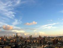 城市现代地平线 免版税库存照片