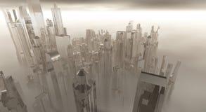 城市玻璃 库存照片